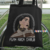 Punk Rock Cholo Bad B!@*h Black Cotton Canvas Tote Bag