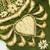 L204 Vintage Beaded Boho MEDIUM - LARGE Piece, Junk Journal Embellishments,