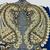 L205 Vintage Beaded Boho MEDIUM - LARGE Piece, Junk Journal Embellishments,