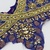 L208 Vintage Beaded Boho MEDIUM - LARGE Piece, Junk Journal Embellishments,