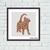 Giraffe print cat ornament silhouette cross stitch pattern, Tango Stitch