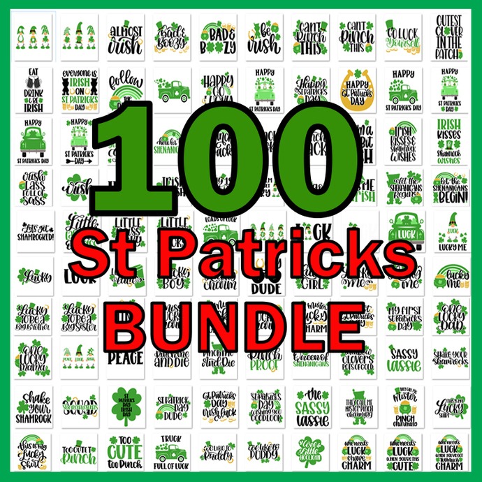 St Patrick's Day SVG Bundle, Lucky svg, Irish svg, St Patrick's Day Quotes,