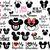 Minnie Mickey Wedding Svg Bundle, Disney Wedding Svg, Bride Svg, Groom Svg,
