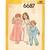 Simplicity 6687 Girls Nightgown, Pajamas, Robe 70s Vintage Sewing Pattern Size 4