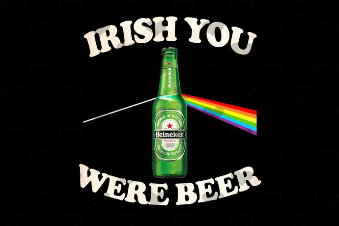 Patrick Beer Wish You Were Beer PNG, Digital Download, Digital Print Design