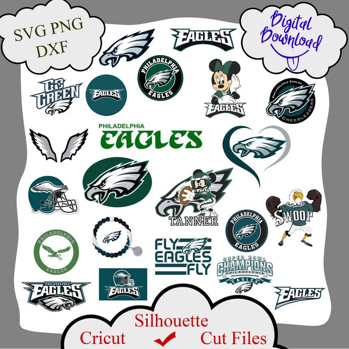Philadelphia eagles bundle logo sport svg, Philadelphia eagles bundle svg,