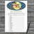 Cute Owl Baby Animals Name Game,Owl Baby shower games,baby shower game