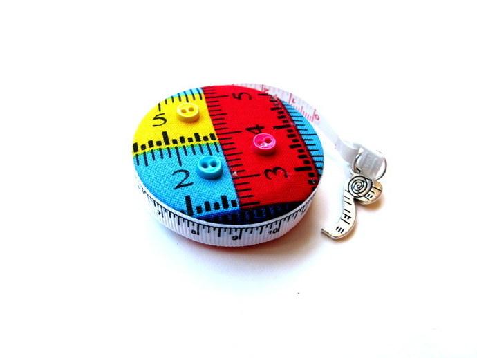 Measuring Tape Bright Tape Measure Fabric Small Retractable Tape Measure