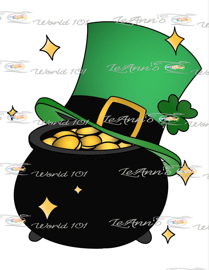 Luck of the Irish - Digital Stamp