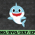 Baby Shark SVG, Cricut Cut files, Shark Family doo doo doo Vector EPS,
