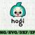 Hogi SVG, Cricut Cut files, Shark Family doo doo doo Vector EPS, Silhouette DXF,