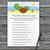 Cute Turtle Nursery Rhyme Quiz Game,Cute Turtle Baby shower games,baby shower