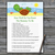 Cute Turtle How Well Do You Know Game,Cute Turtle Baby shower games,baby shower