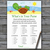 Cute Turtle What's In Your Purse Game,Cute Turtle Baby shower games,baby shower