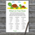 Turtle What's In Your Purse Game,Cute Turtle Baby shower games,baby shower game