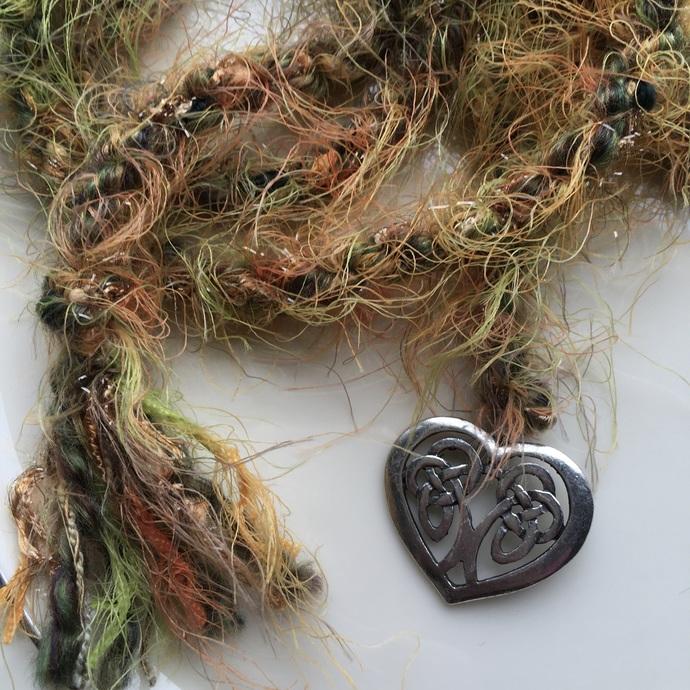 """My Celtic Heart"" Spirit Cord"