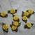 Yellow Fabric Flowers*