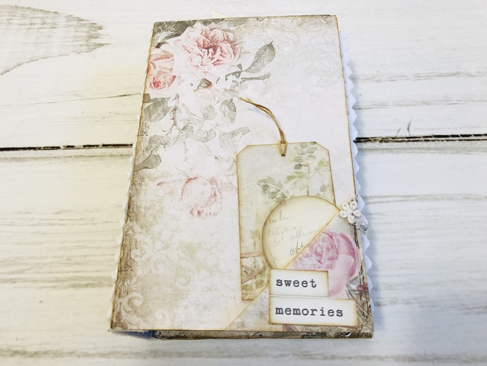 Faded Roses Journal - by Shelley Dodds