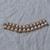 vintage Monet signed demi parure white lucite inserts wide necklace bracelet
