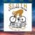 Sloth cycling team we'll get there,sloth svg,lazy sloth, sloth shirt, sloth