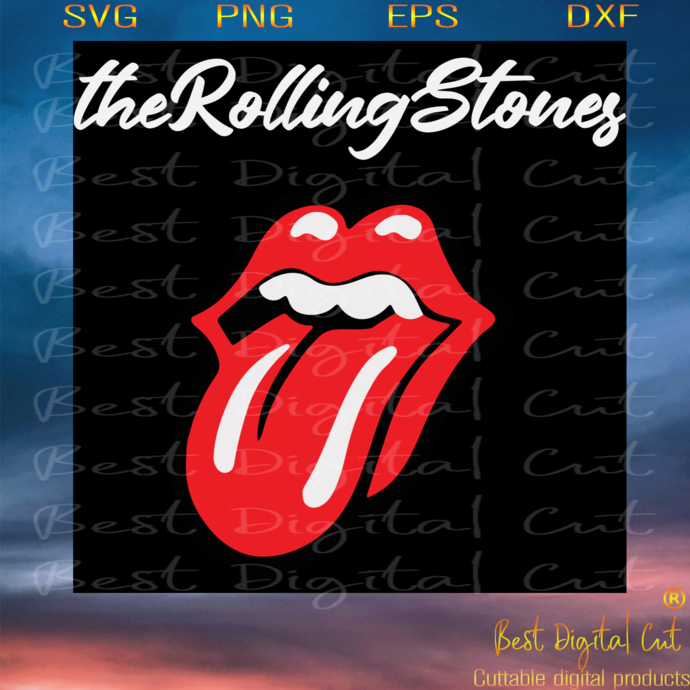 The Rolling Stones Lips, Trending Svg, Animal Lover Svg, Luscious Lips Svg,