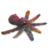 Octopus: Felted Alpaca Miniature Figurine Sculpture for the Sea Life Enthusiast