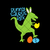 Bunny Saurus Rex SVG, Bunny T Rex SVG, Easter SVG, Animal SVG, Easter Bunny T