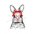 Bunny With Red Glasses SVG, Bunny SVG, Easter SVG, Animal SVG, Funny Bunny SVG,