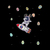 Dabbing Astronaut Bunny SVG, Dabbing Astronaut SVG, Astronaut Bunny SVG, Bunny