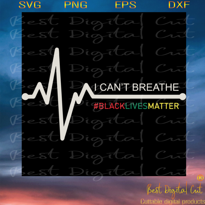 I Cant Breathe, Trending Svg, George Floyd Svg, African-american Slogan,The
