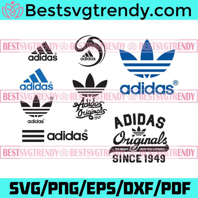 Adidas Logo Svg Bundle, Trending Svg, Adidas Svg, Adidas Logo, Adidas Brand Svg,