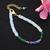 Ethiopian Opal Bracelet,Multi Fire Opal Jewelry,Tanzanite Beads Bracelet,Opal