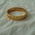 vintage gold filled bangle