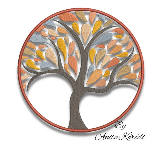 Copy of Tree of Life Embroidery For Machine Design Pes file digital instant