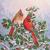 Cardinal Pair Cross Stitch Pattern***L@@K***LOOK***X***INSTANT DOWNLOAD***