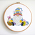 SET of 4 Easter Gnomes Cross Stitch Pattern Small cross stitch chart Easter