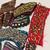 10 MINI TRIM Pieces Vintage Beaded Boho Snippet Pieces, Junk Journal