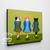 Irish Step Dancing Cats Original Whimsical Cat Folk Art Painting