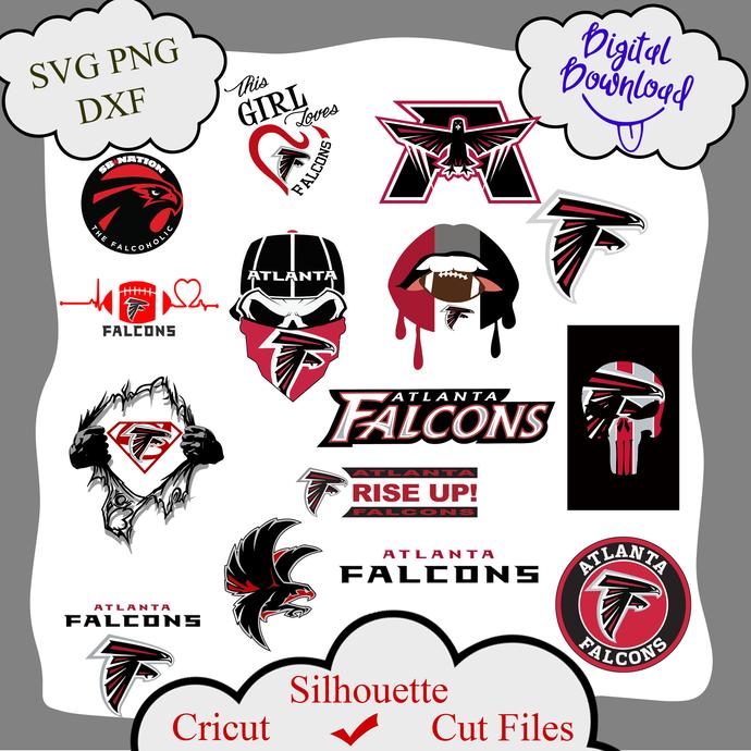 Atlanta Falcons bundle logo sport svg, Atlanta Falcons bundle svg, Atlanta
