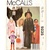 McCall's 9235 Childs Costumes 80s Vintage Sewing Pattern Size Small 4-6 Angel