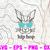 Hiphop Bunny SVG, Hipster Easter SVG, Hip Hop Boy SVG, Blue Sunglasses SVG,