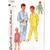 Simplicity 1434 Boys Long, Short Pajamas 50s Vintage Sewing Pattern Size 12