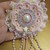 Gorgeous Handmade Doily/Bling Flower
