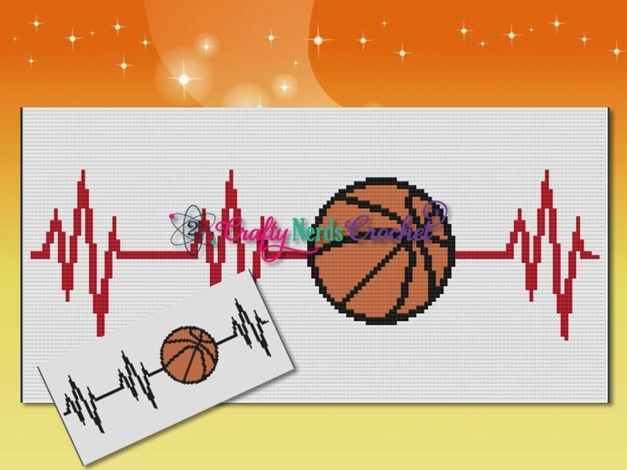 BasketballEKG Pattern Graph With Mini C2C Written