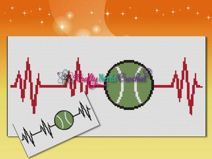 Tennis EKG Pattern Graph With Mini C2C Written