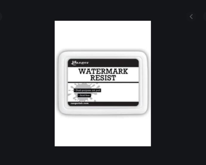 Destash Watermark Resist Dual Purpose Ink pad by Ranger NEW