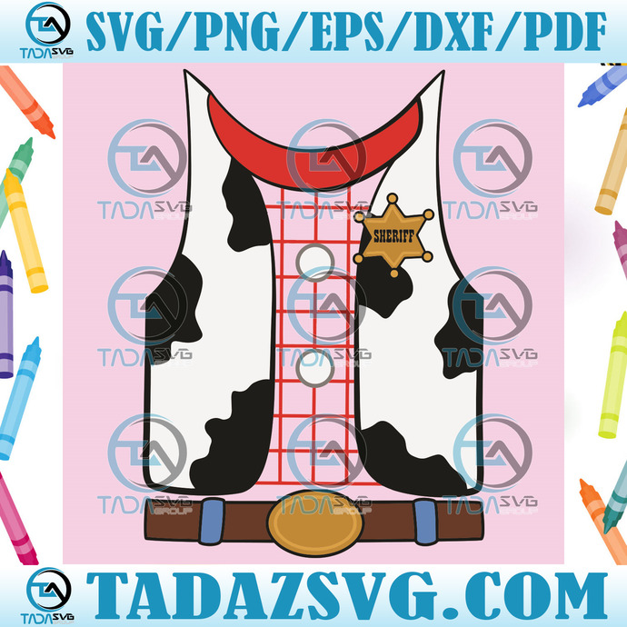 Woody Toy Story Costume Svg, Trending Svg, Woody Svg, Woody Costume Svg, Toy