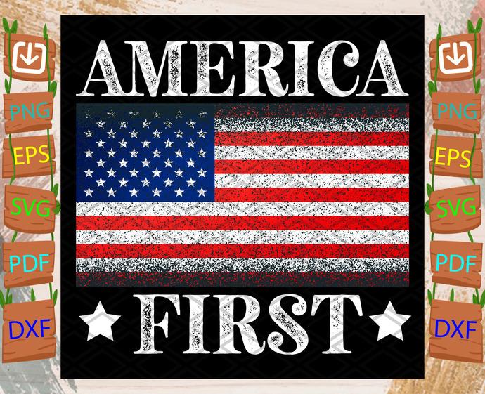 America First Svg, Trending Svg, America First Svg, American Flag Svg, American