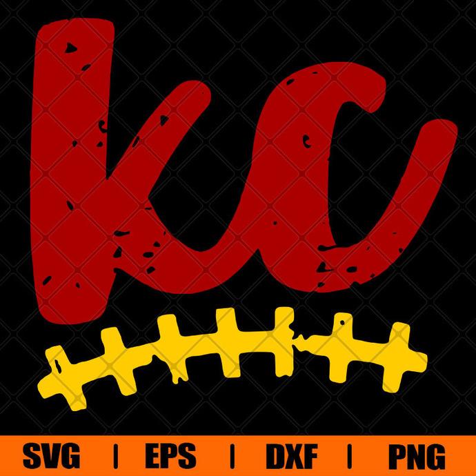 Kansas City  Svg, Chiefs Svg, Super Bowl Svg, Football Svg, Distressed Svg,