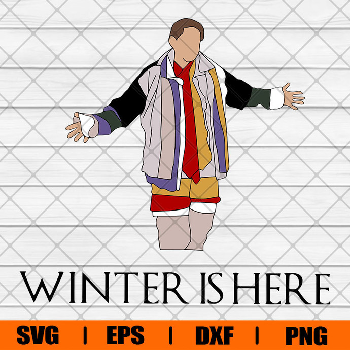 Winter Is Here Svg, Svg, Eps, Png, Dxf